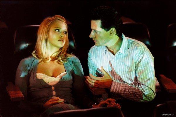 Jessica Alba vo filme Fantastická štvorka z roku 2005.