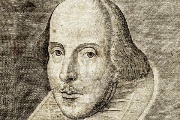 William Shakespeare sa narodil 25. apríla 1564 a zomrel 23. apríla 1616.