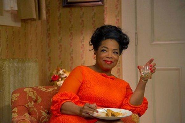 Oprah Winfrey vo filme Komorník (2013)