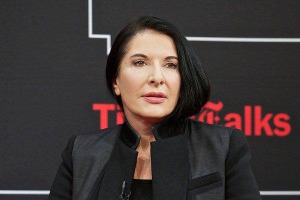 Marina Abramovič.