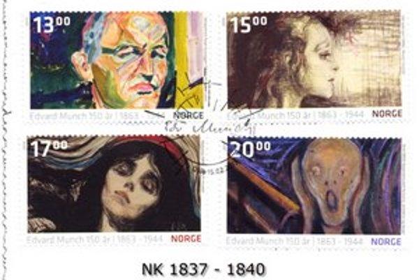 Munch je dnes na známkach, čokoládach aj na špeciálnych výstavách v Munchovom múzeu i v nórskej Národnej galérii.  Len v prvý deň ich videlo vyše 5000 návštevníkov.