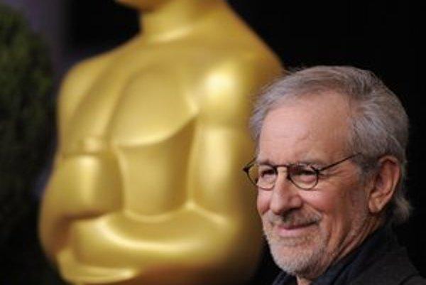 Steven Spielberg minulý týždeň počas odovzdávania cien Americkej filmovej akadémie.
