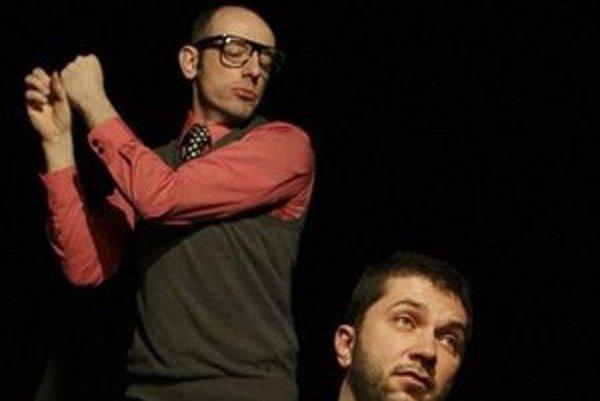 Csongor Kassai (vľavo) a Viktor Horján v hre Mutanti.