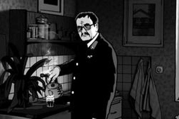 Miroslav Krobot hrá muža, ktorý bojuje a nedá sa zničiť ani komunizmom, ani psychiatriou.⋌