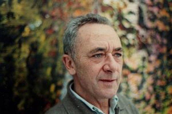 Gerhard Richter (1932), jeho rozsiahla retrospektívna výstava s názvom Panorama je práve v londýnskej galérii Tate Modern, presunie sa do Berlína a Paríža.