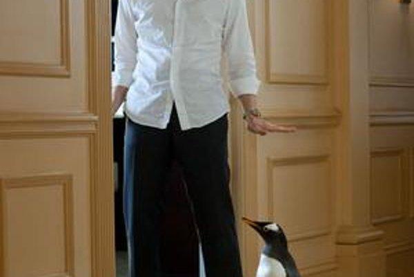 Z filmu Pán Popper a jeho tučniaci.