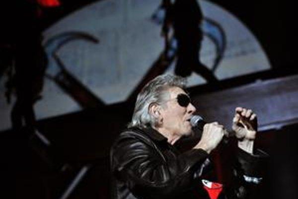 Roger Waters počas pražskej šou.