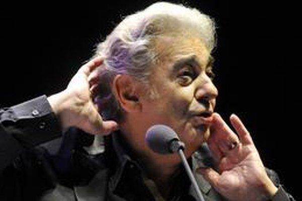 Svoj premiérový koncert na Slovensku si Plácido Domingo užil.