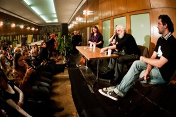 Fedor Gál v Bratislave rozprával o svojom treťom filmovom projekte.