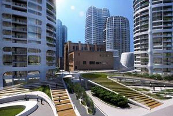 V štúdiu Zaha Hadid Architects pracuje vyše tristo ľudí. Ich bratislavský projekt by mal stáť na Čulenovej ulici a počíta so zachovaním historicky cennej Jurkovičovej teplárne.