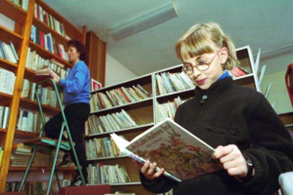Deti, ktoré čítajú, majú lepšiu slovnú zásobu.