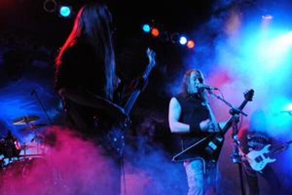 Novú hitovku To The Metal! nemecká kapela Gamma Ray už zaspievala aj v Prešove, Žiari nad Hronom a Bratislave.