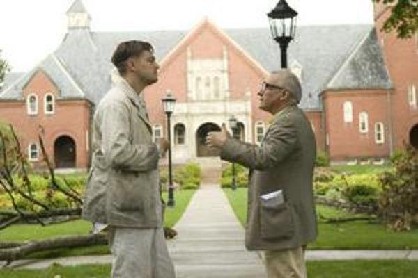 Martin Scorsese s Leom DiCapriom pri nakrúcaní trileru Shutter Island, ich štvrtého spoločného filmu.