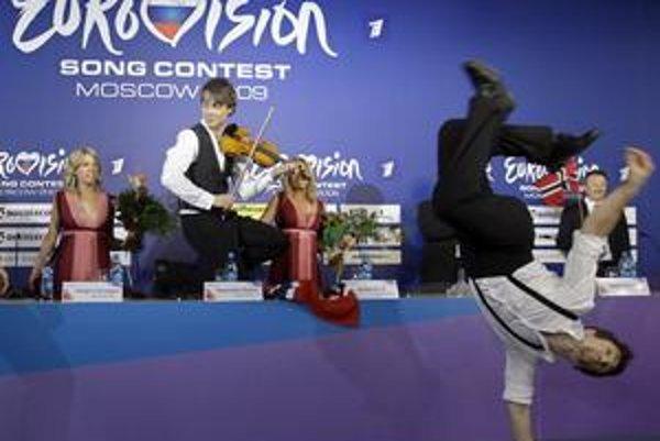 Takto to vlani v súťaži roztočil jej víťaz Alexander Rybak.