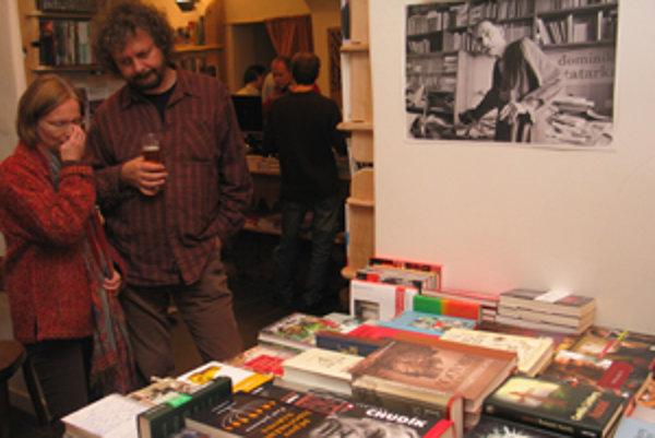 Kníhkupectvo neponúka knihy, ale skôr zážitky z kvalitnej literatúry.