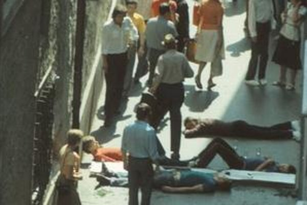 Akcia v máji 1979 na dnešnej Kostolnej ulici.