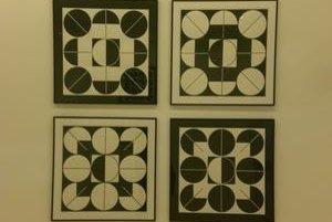 Konštruovaná krása geometrickej abstrakcie.