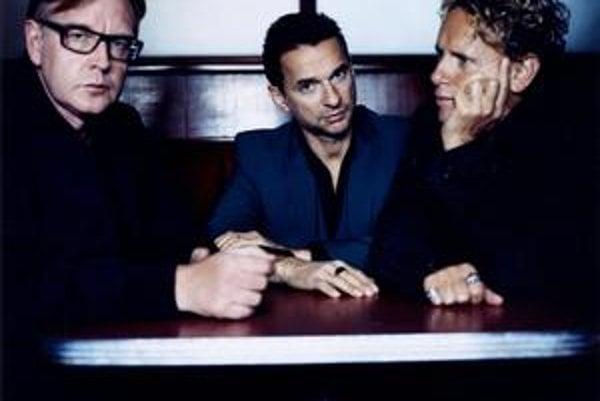 Andy Fletcher, Dave Gahan a Martin Gore (zľava doprava) sú na scéne už takmer tridsať rokov a ešte stále majú čo povedať.