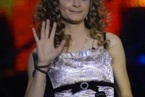 O Viere Berkyovej (na snímke ešte ako účastníčka SuperStar) nie sú správy, miesto nej v semifinálovom kole Eurotelevízie vystúpi Natália Hatalová.