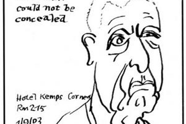 Autoportrét Leonarda Cohena: Vnútorný šarm tohto muža nemožno skryť.