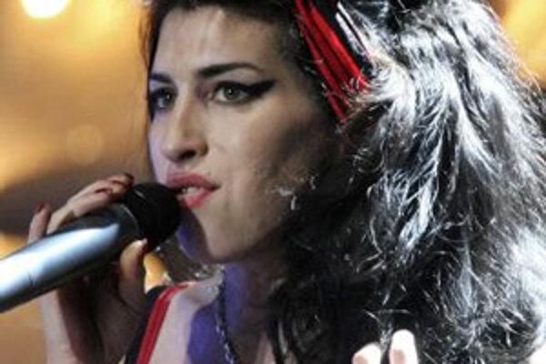 Britská speváčka Amy Winehouse.