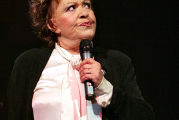 Jiřina Bohdalová (fotografia zo 6. decembra 2006).