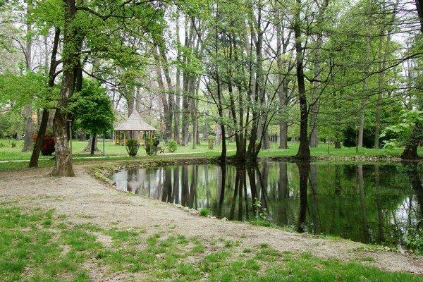 Kým v Zámockom parku odstraňovali následky silného vetra, Pezinčania doň niekoľko dní nemohli.