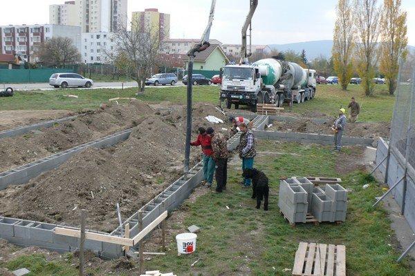 Stavebné práce chce investor stihnúť do nasledujúceho leta.