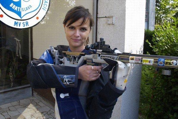 Športová strelkyňa Daniela Pešková z Vištuku je už mamou.