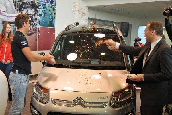 Sagan pokrstil 400-tisíci Citroën.