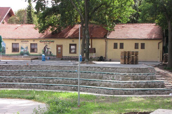 Za obnovu amfiteátra radnica zaplatí 143 tisíc eur.