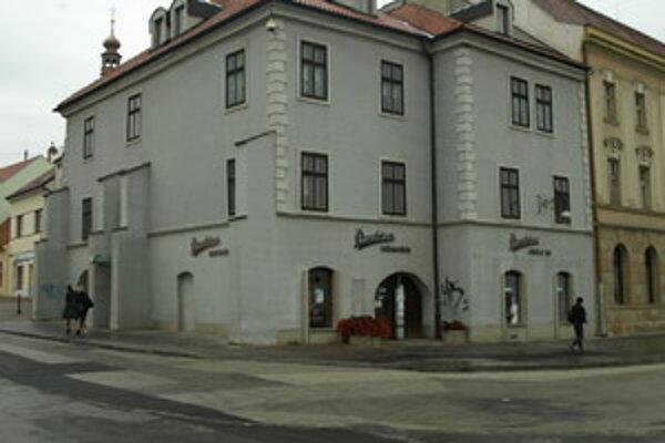 Budova Prachárne v centre Trnavy.
