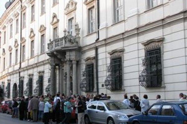 Galéria v arcibiskupskom paláci už nefunguje.