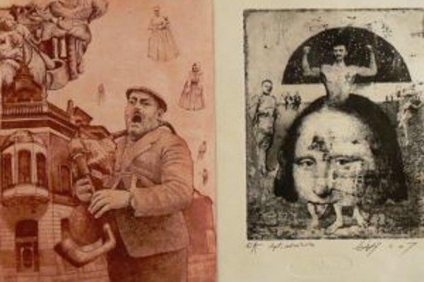 Pavel Čáni vystavuje svoje diela v trnavskej Galérii Jána Koniarka.