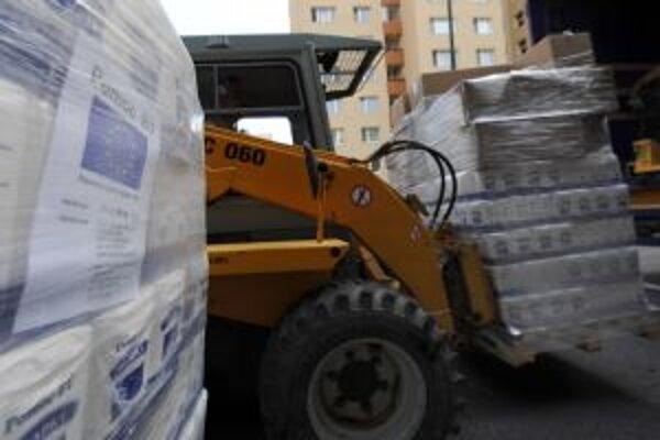 Na potravinovú pomoc malo v regióne nárok viac ako desaťtisíc žiadateľov.