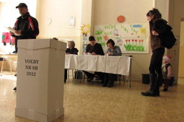Voľby 2012.