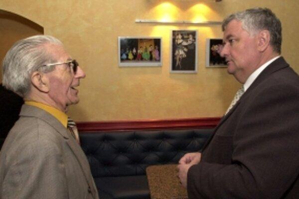 Čestné občianstva v minulosti získal aj bývalý dlhoročný primátor Trnavy Štefan Bošnák (vpravo).