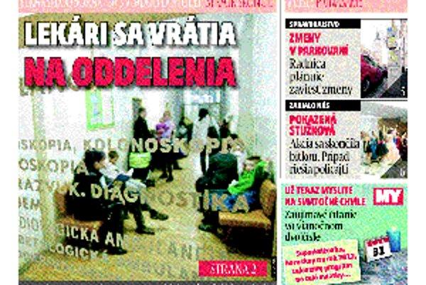 Aktuálne číslo MY Trnavských novín.