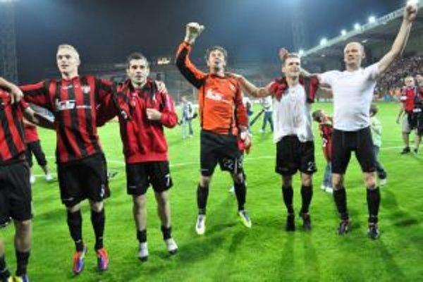 Spartakovci mali dôvod na radosť, cez favorizovaný bulharský tím postúpili do kvalifikačného predkola Európskej ligy.