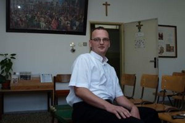 Gabriel Dzvoňár pôsobí ako väzenský kaplán už piaty rok.