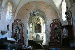 Kostol sv. Gála je v rámci Trnavského kraja unikátny zachovanými gotickými prvkami.