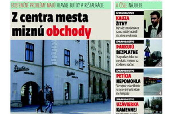 Najnovšie číslo MY Trnavských novín.