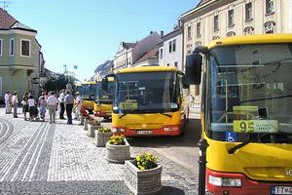 V apríli pribudnú autobusy na plyn.