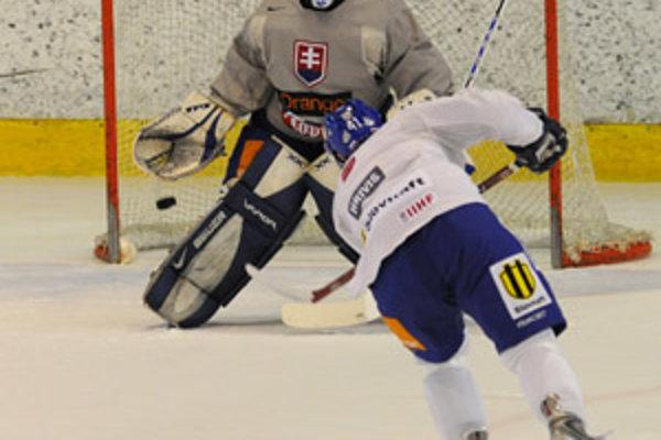 Rusi dali Slovákom vo včerajšom zápase zabrať.