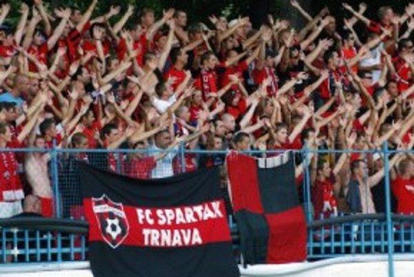 Fanúšikovia Spartaka.