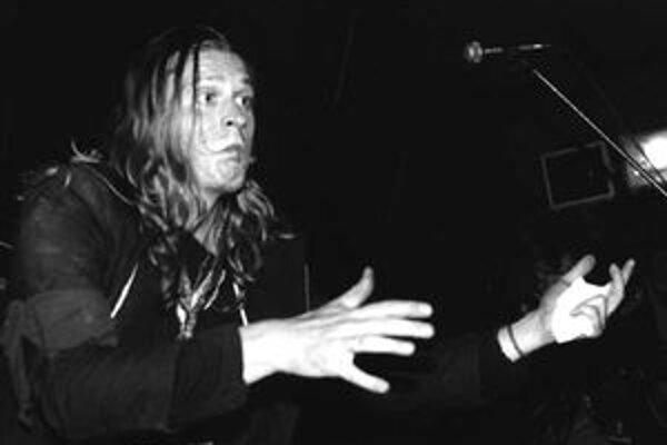 Hudobník Braňo Jobus.