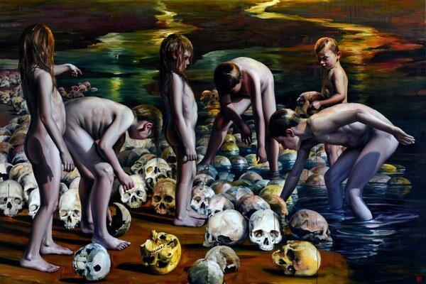 Výstavu s názvom Radostné dni od Róberta Bielika, si v galérii Bazovského môžete pozrieť do 20.septembra.