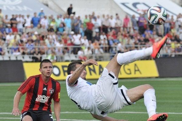 Efektné nožničky Fera Kubíka gól nepriniesli.