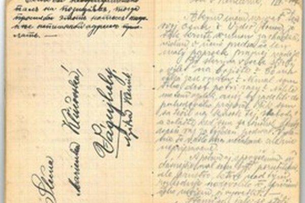 Denník pre Novomešťanku Máriu Klúčovskú