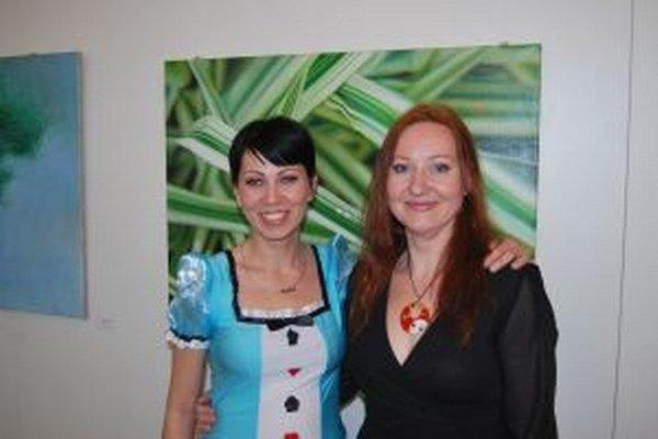 Najlepšie herečky Maja Zdurna Fabriková (vpravo) a Dáša Reisingerová (vľavo)